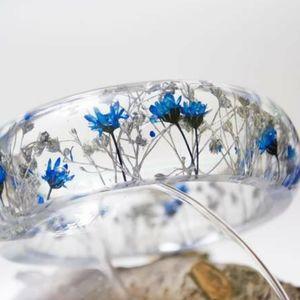 Real Flower Bangle